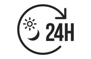 24時間365日、スマホやPC、タブレットからいつでもどこでも簡単に占ってもらえる